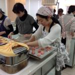 和菓子の講習会の様子1
