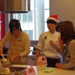 年末特別講習会 ケーキ作りの様子2