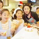 親子でケーキ教室1