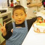親子でケーキ教室2