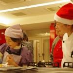 クリスマスケーキ講習会の様子5