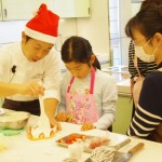 クリスマスケーキ講習会の様子6