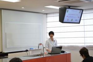 京都栄養医療専門学校 澤村敦子講師による講演