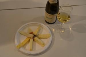 テイスティングされたチーズ