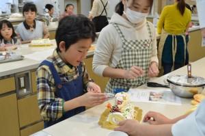 ケーキ講習会の様子6
