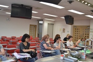 washoku class with Ball State University students1