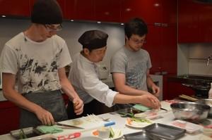 washoku class with Ball State University students5