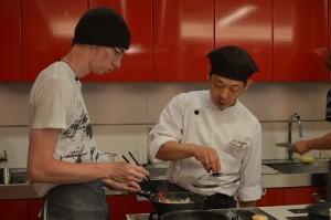 washoku class with Ball State University students9
