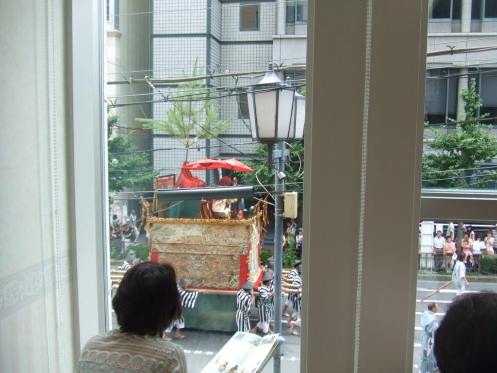 祇園祭巡行鑑賞
