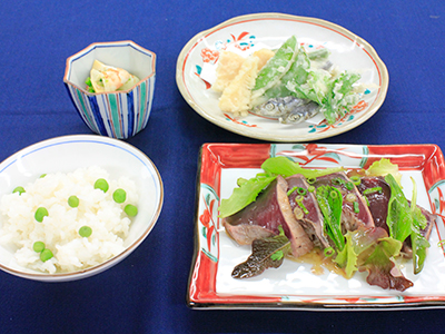 ラキャリ京料理5月メニュー
