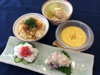 ラキャリ京料理7月メニュー