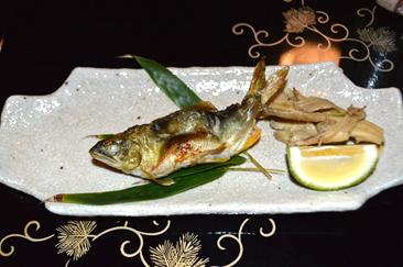 瓢亭 焼き魚