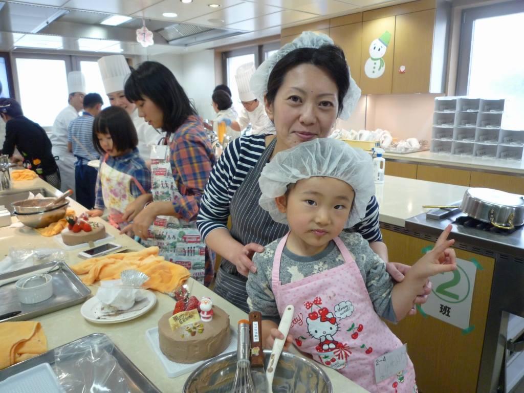 京都製菓技術 親子教室