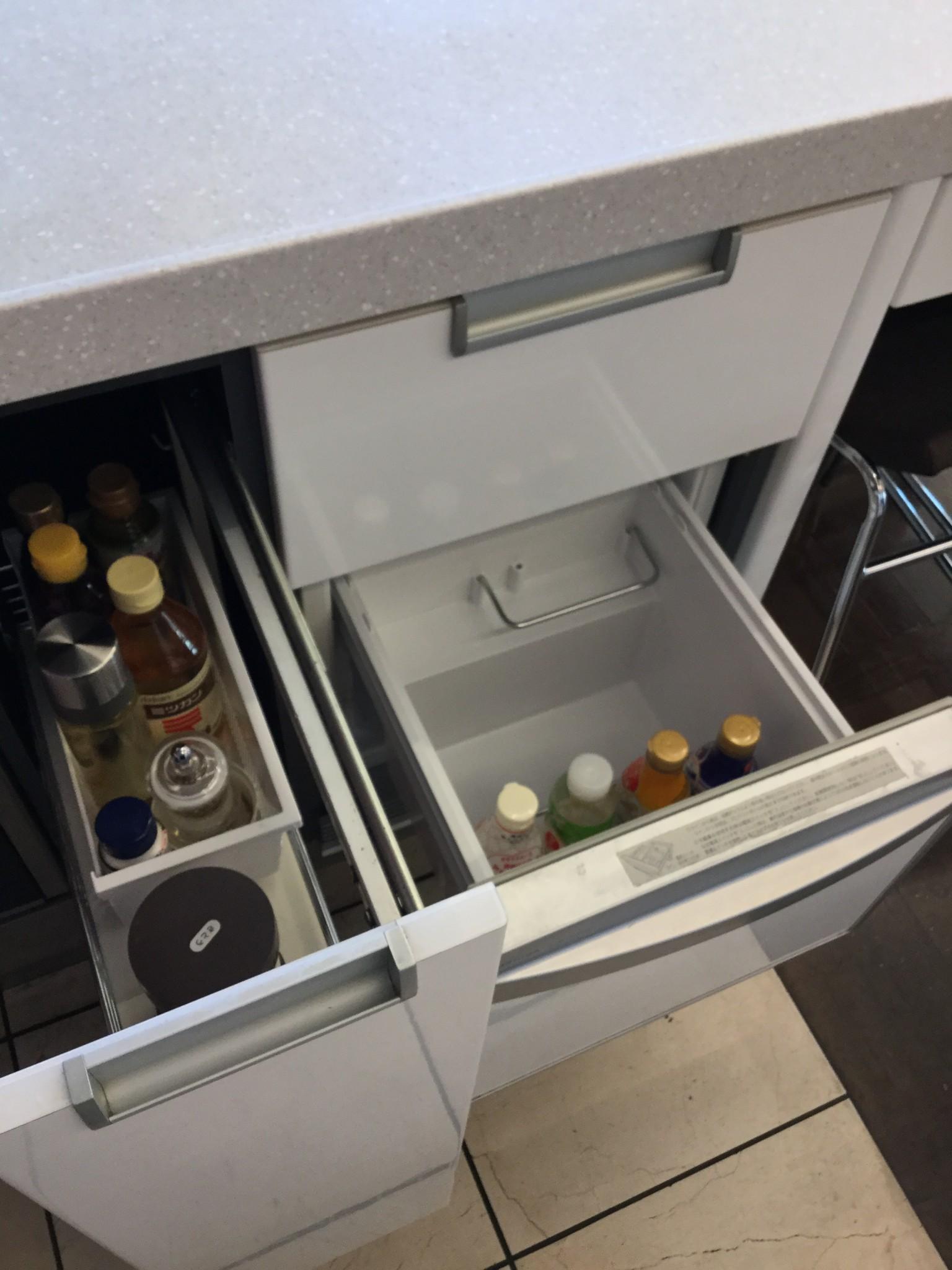 クッキングスクール施設 冷蔵庫