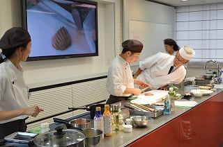和食と洋食の講習会1