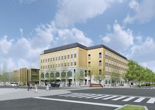新キャンパス外観(イメージ図)