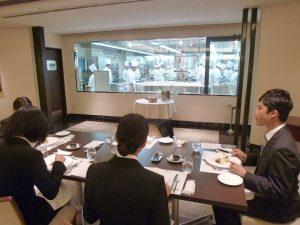 大和学園採用活動レストラン