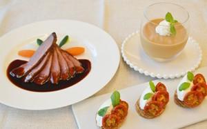 西洋料理における「塩味」「酸味」「苦味」「甘味」「うま味」
