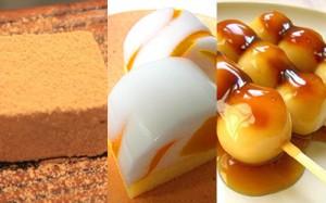 和菓子で表現する「五味」の素材について。